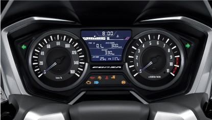 2019 Honda Forza 300 Instrumentation