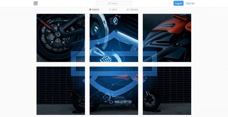 Harley-Davidson LiveWire India Teaser Instagram