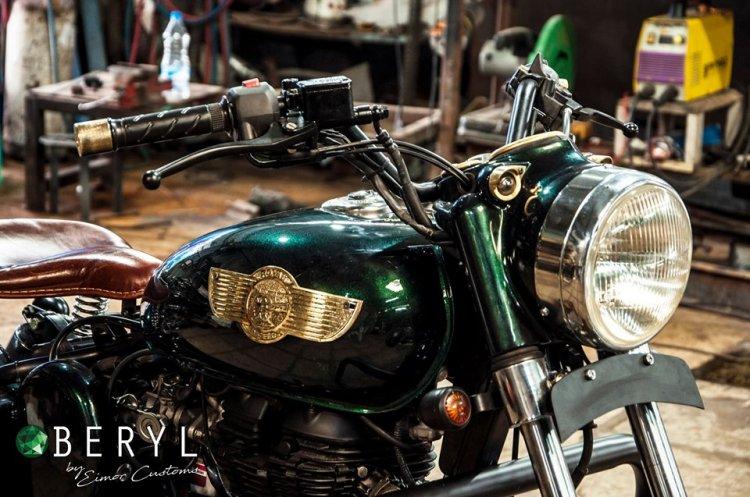 Royal Enfield Classic 500 Beryl Eimor Customs Head