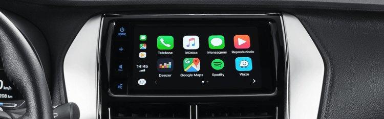 Toyota Yaris Apple Carplay