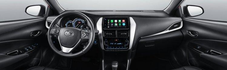 Toyota Yaris Brazil Interior