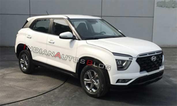 2020 Hyundai Ix25 2020 Hyundai Creta Front Three Q