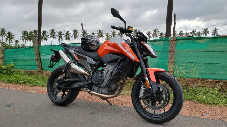 Ktm 790 Duke Spotted In India Again Right Side