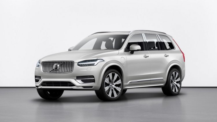 New Volvo Xc90 Facelift Front Three Quarters 2268