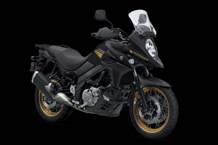 Suzuki V Strom 650 Xt Glass Sparkle Black