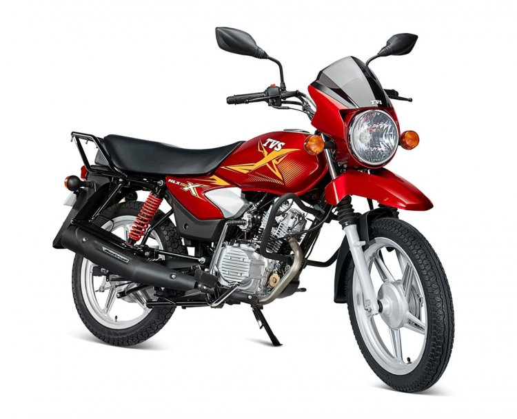 Tvs Hlx 150 X Right Front Quarter