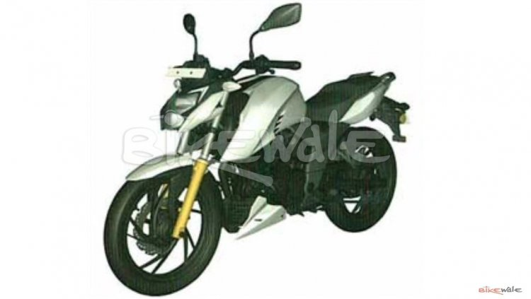 Tvs Apache Rtr 160 4v Leaked Photograph