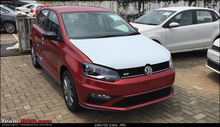New Vw Polo Gt Facelift Spied Completely Undisguised
