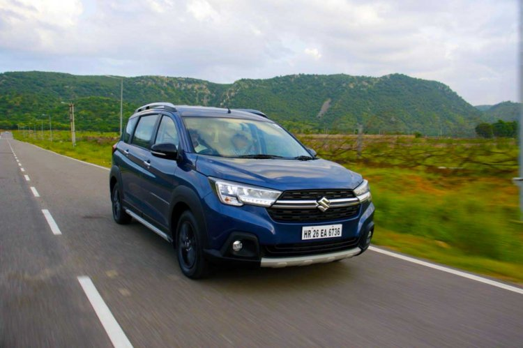 Maruti Xl6 Test Drive Review Images Front Angle Ac