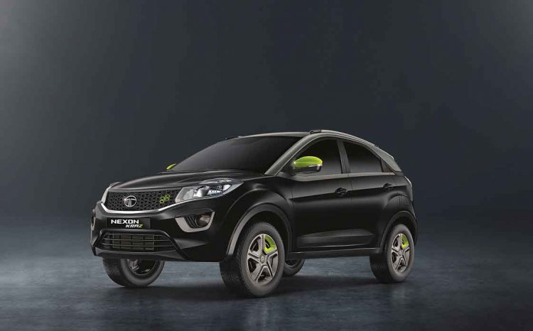 Tata Nexon Kraz Edition Images Front Three Quarter