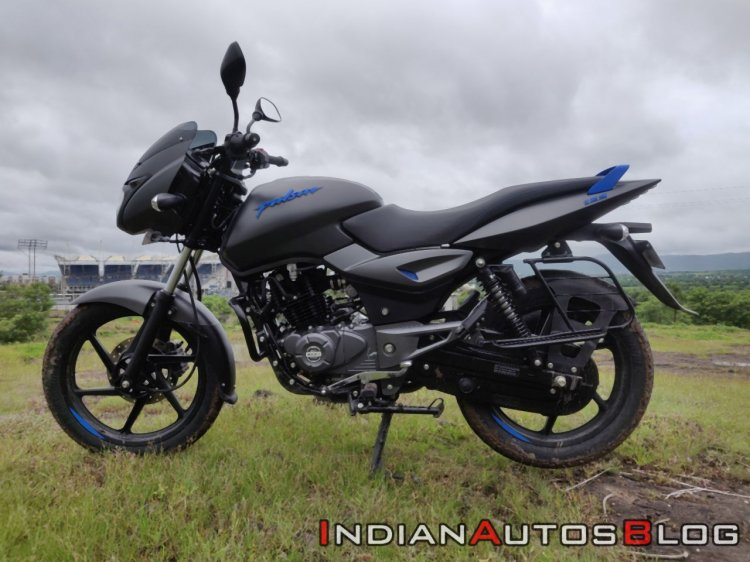 Bajaj Pulsar 125 Detail Shots Left Side