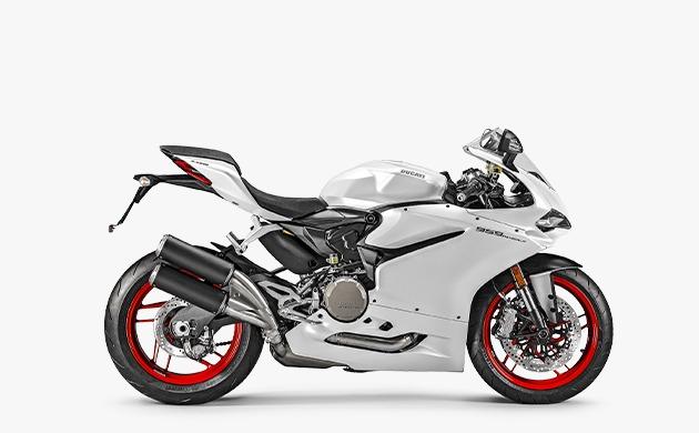 Ducati Panigale 959 White Side Profile