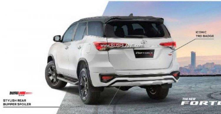 2019 Toyota Fortuner Trd Sportivo Brochure Leak 2