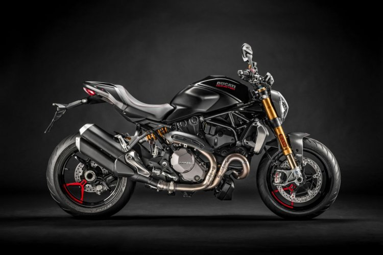 Ducati Monster 1200s Black On Black Press Images R