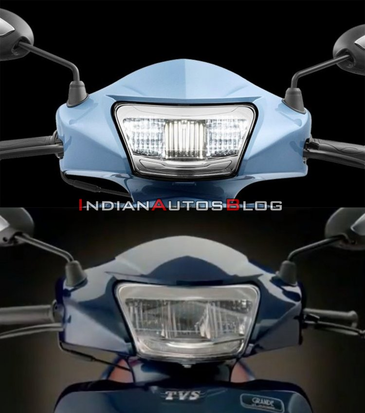 Tvs Jupiter Old Vs New Comparison Headlight