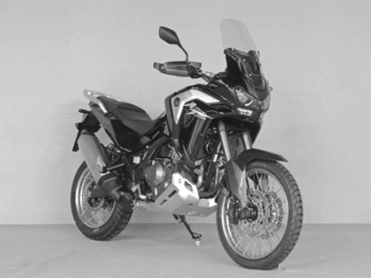 2020 Honda Africa Twin Adventure Model Right Front