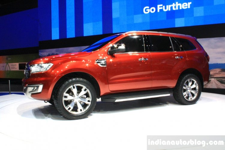 Ford Everest Concept At The Bangkok Motor Show Sid