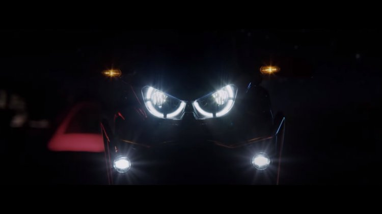2020 Honda Africa Twin Teaser Headlight Setup