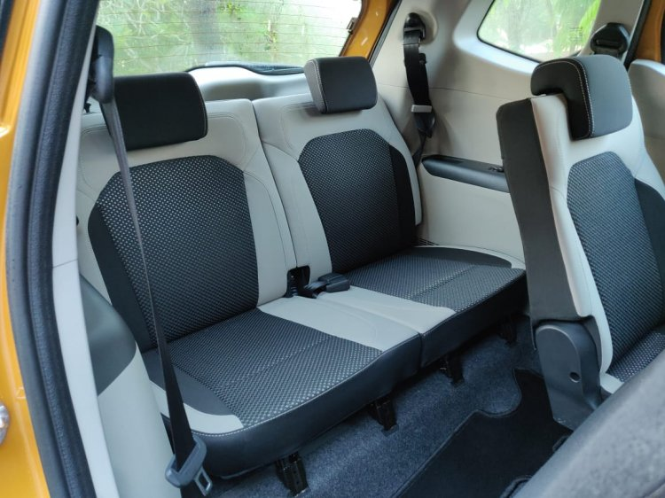 Renault Triber Test Drive Review Images Interior T