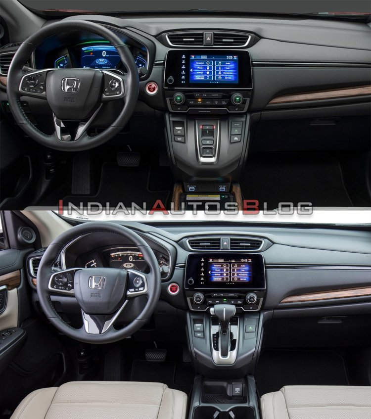 2020 Honda Cr V Facelift Vs 2017 Honda Cr V 7