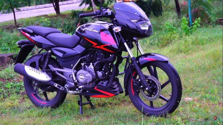 Bajaj Pulsar 125 With Split Seats 86b4