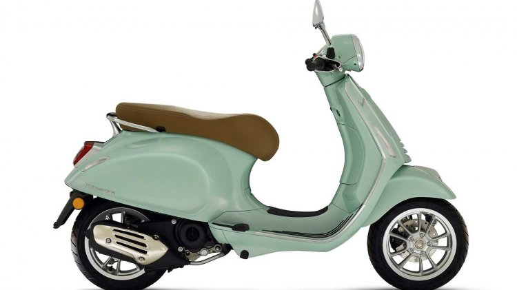 Vespa Primavera 50 Cc Press Images Right Side