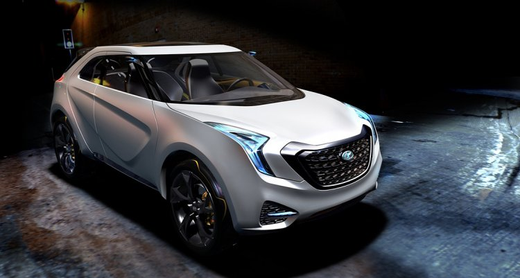 Hyundai Curb Concept Front Three Quarters 1a9b