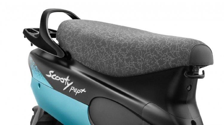 Tvs Scooty Pep Plus Aqua Matte Seat Cover Fba9