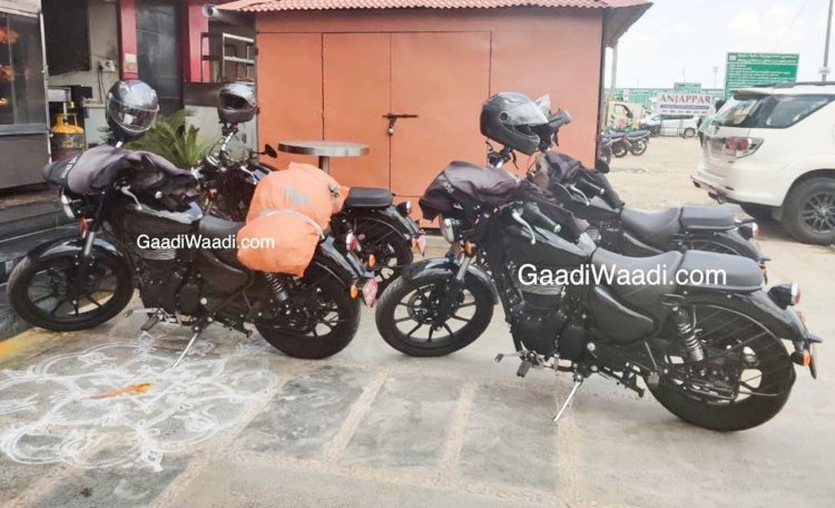 2020 Royal Enfield Thunderbird X Spied Left Side