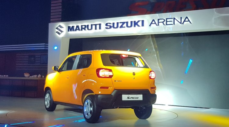 Maruti S Presso Rear Three Quarters Launch