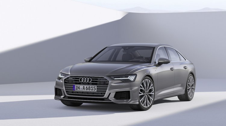 2018 Audi A6 Front Three Quarters 870a