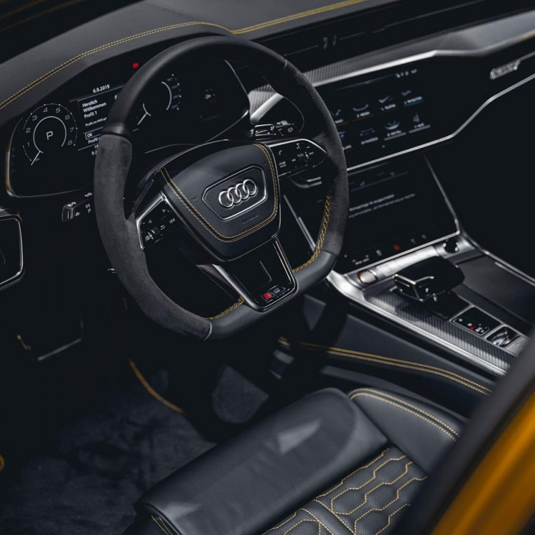 2020 Audi Rs 6 Avant Vega Yellow 4