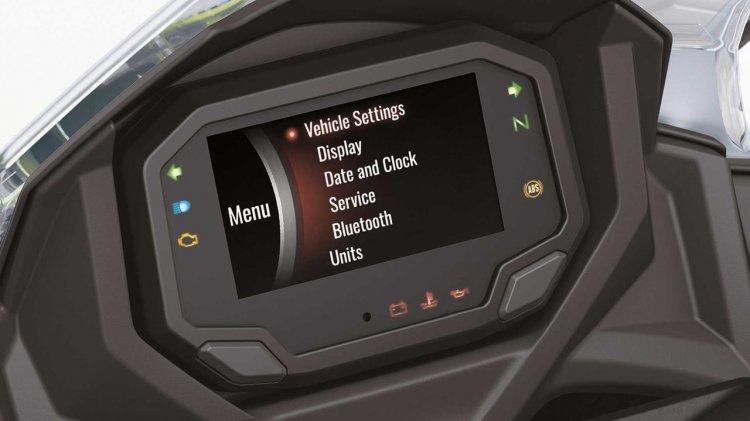 2020 Kawasaki Ninja 650 Instrument Console Setting