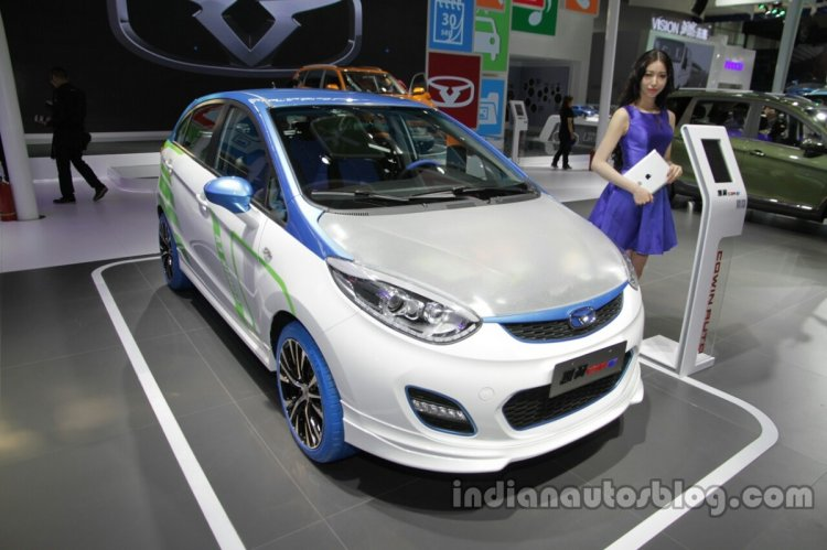 Chery C3r Ev Front Three Quarters At Auto China 20