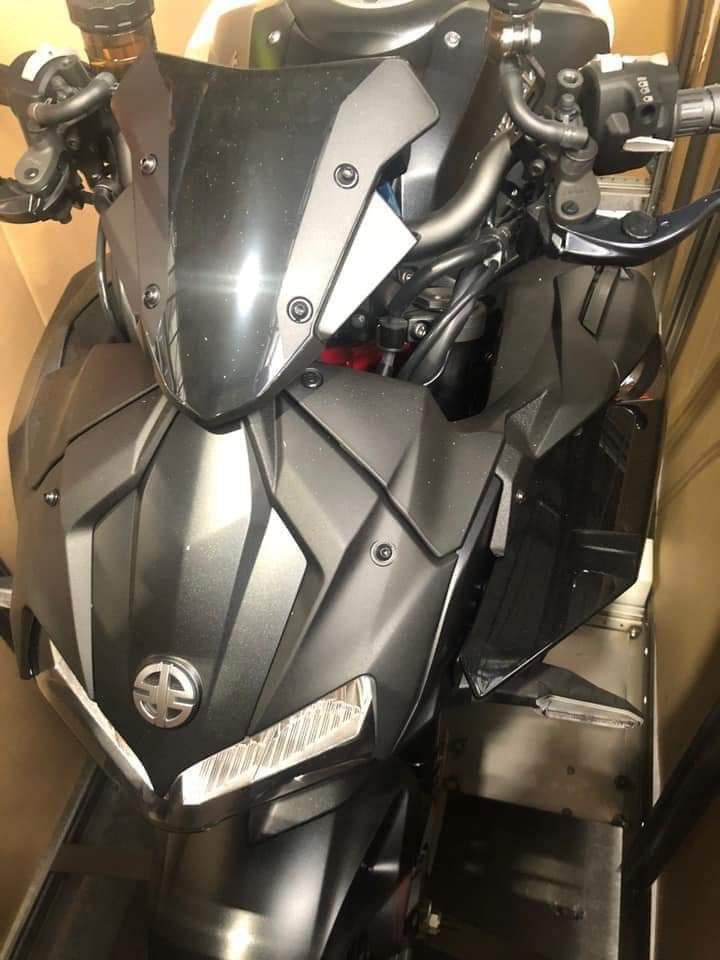 Kawasaki Z H2 Spied Front Fascia