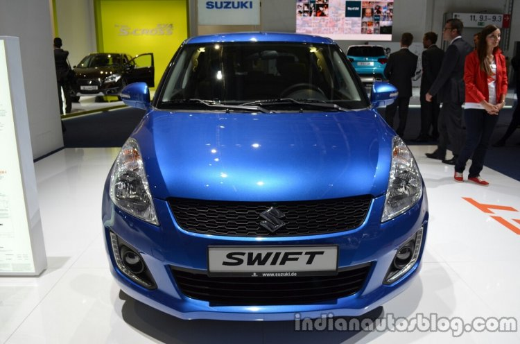 Front Of The 2014 Suzuki Swift Facelift