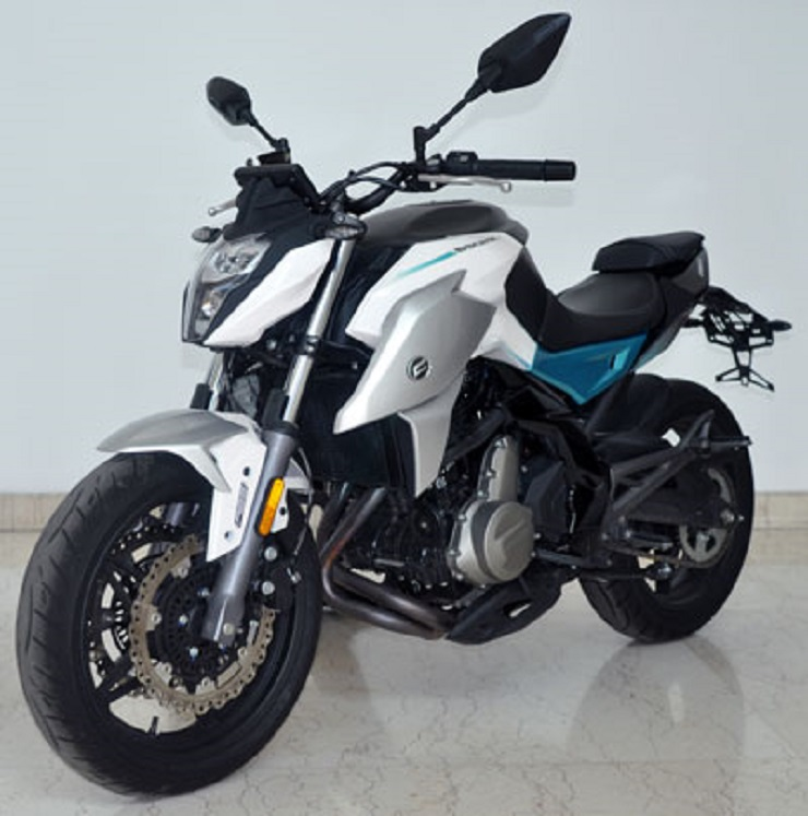 2020 Cfmoto 650nk Leaked Photo Left Front Quarter