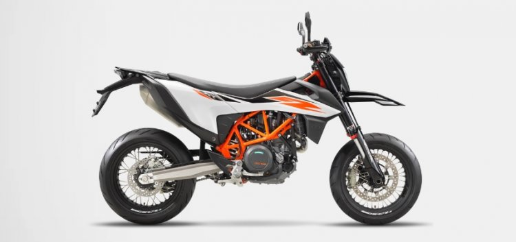 Ktm 690 Smc R Side Profile