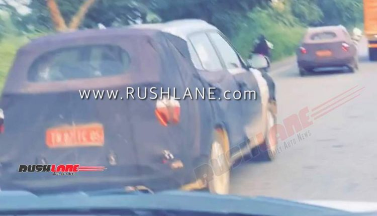 2020 Hyundai Creta Spied With Kia Seltos India Tes
