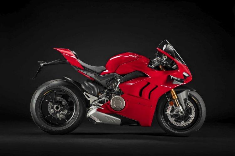 2020 Ducati Panigale V4 S Profile Shots Right Side