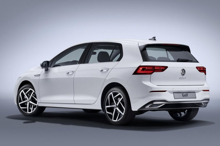 2020 Vw Golf Gte Rear Three Quarters