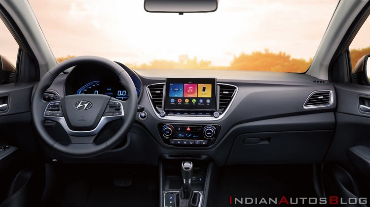 2020 Hyundai Verna Facelift Interior Dashboard