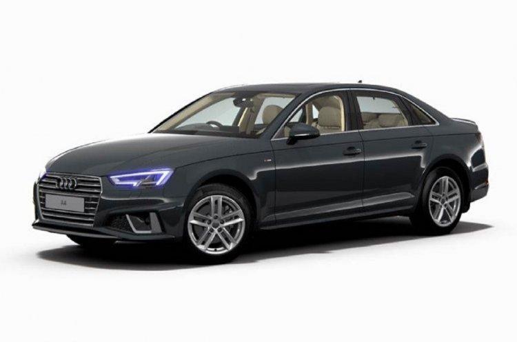 2019 Audi A4 Facelift 4a55