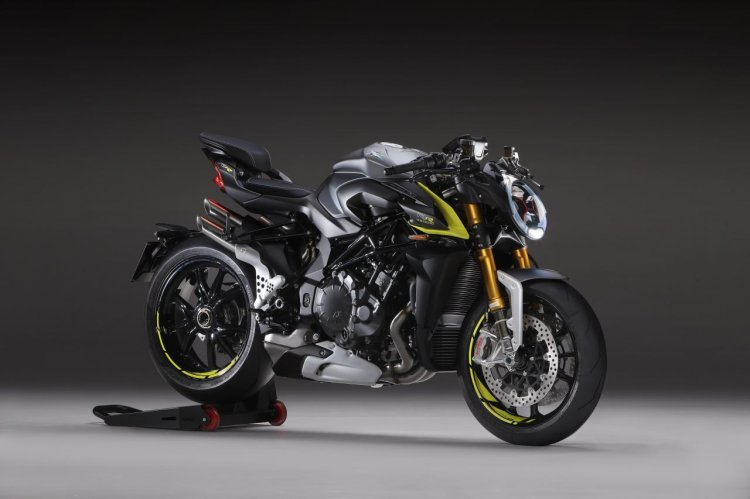2020 Brutale 1000 Rr Metallic Avio Gray Fluo Yello
