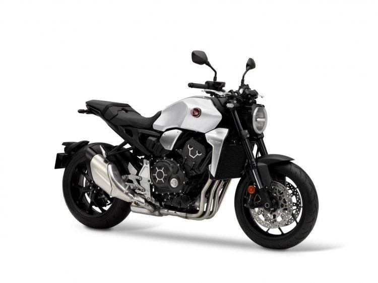 2020 Honda Cb1000r Matt Pearl Glare White Right Fr