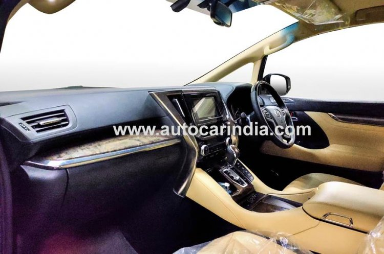 Toyota Vellfire Front Seats And Dashboard