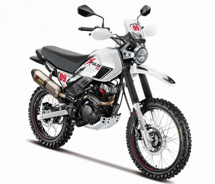 New Hero Motocorp Xpulse 200 Rally Edition Right F