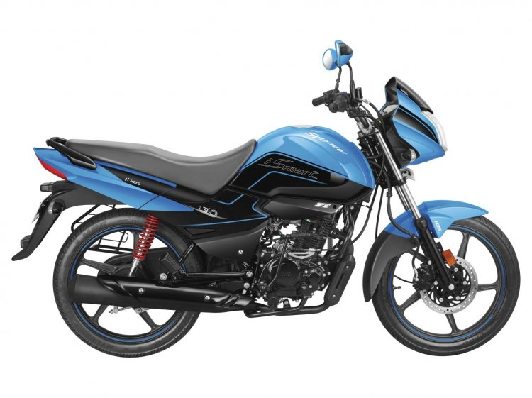 Hero Splendor Ismart Bs Vi Press Images Right Side