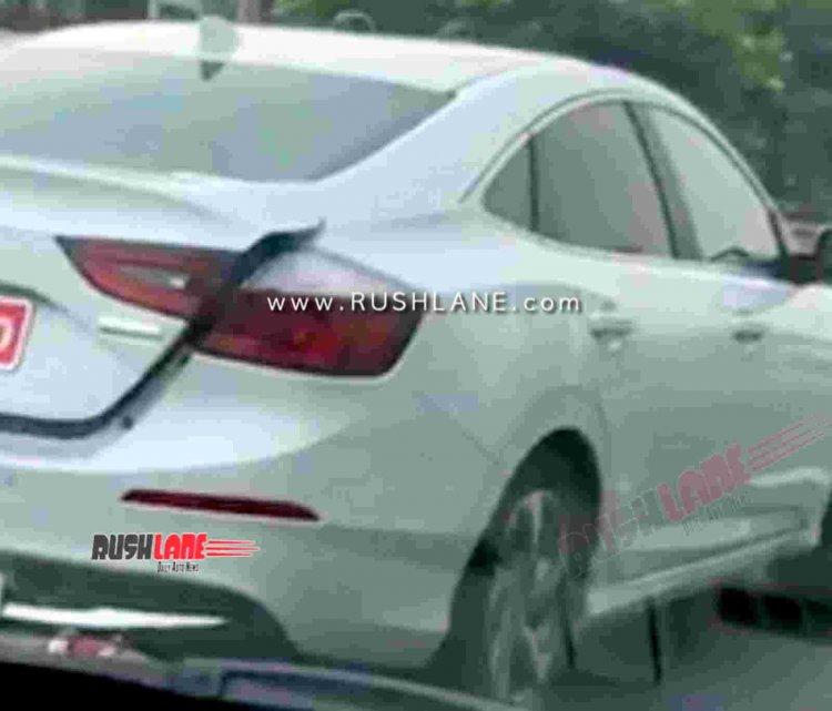 Honda Insight Hybrid Spied India Launch 6 763b
