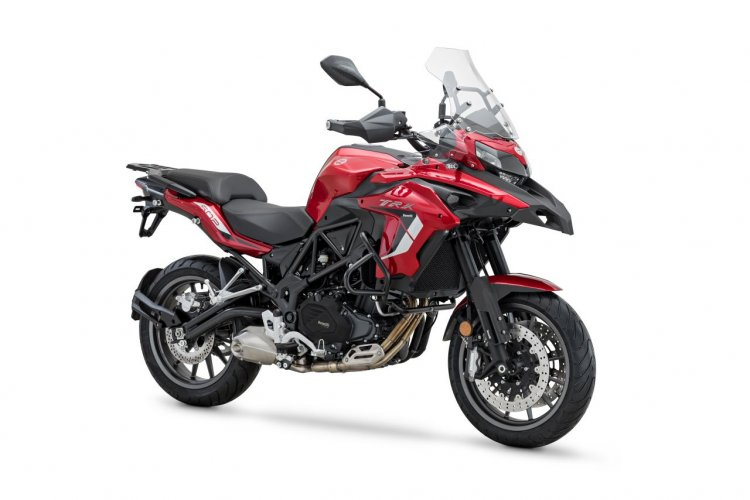 2020 Benelli Trk 502 Red Right Front Quarter